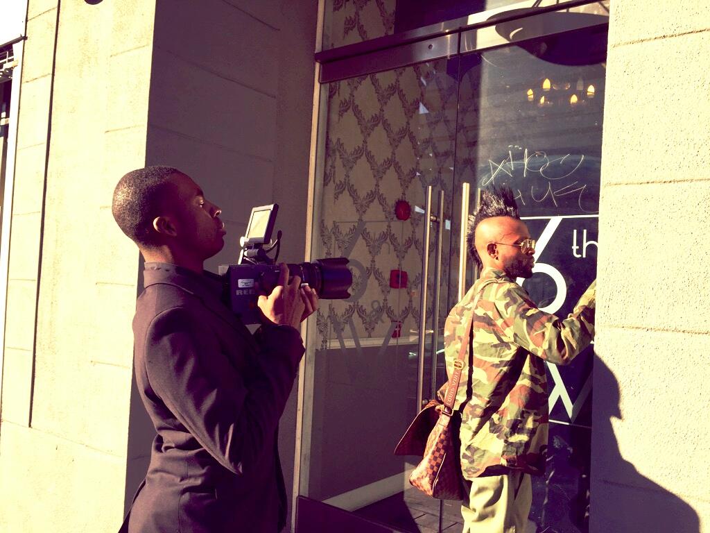 Filming-The_Studio-Donte-Boss